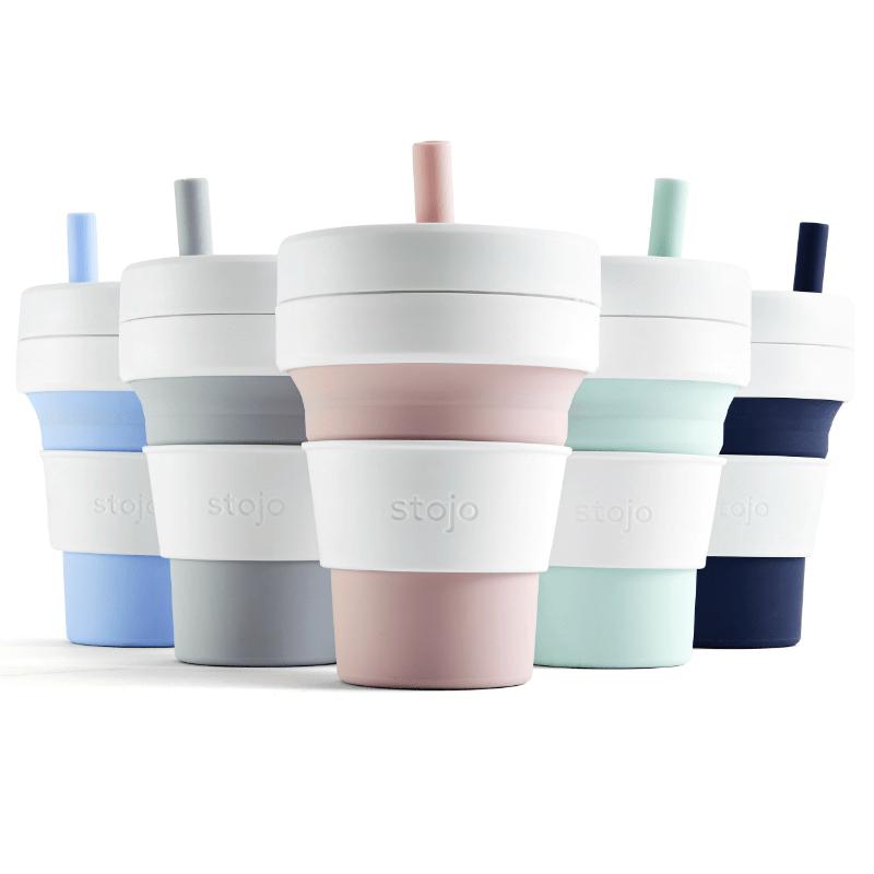 吸攜杯 16 oz / 473 ml 二入 (共3種) 深海藍+天空藍