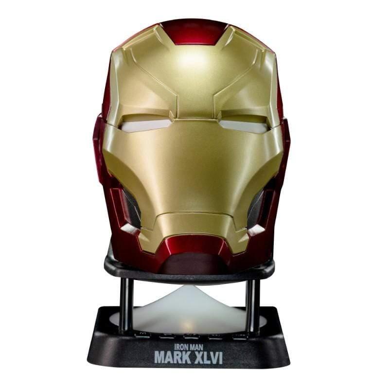 漫威系列 鋼鐵人Mark46頭盔 迷你藍牙喇叭 新款