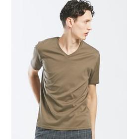 【ABAHOUSE:トップス】【Recency of Mine】ローズペトール VネックTシャツ