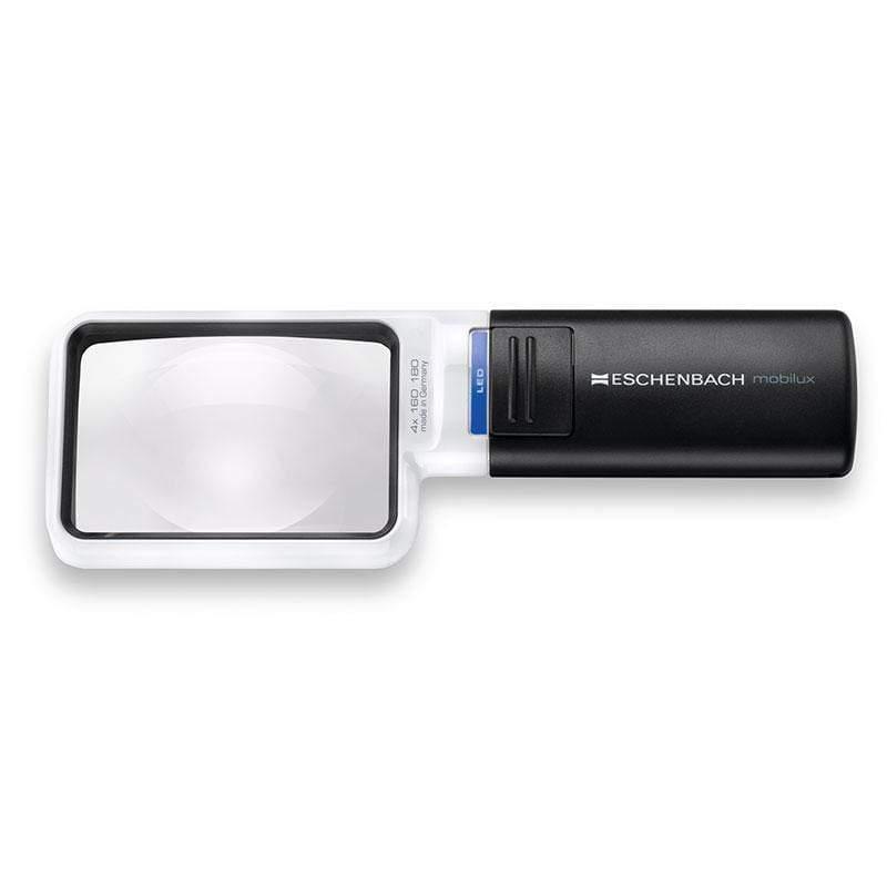 mobilux LED 4x/16D/75x50mm 德國製LED手持型非球面放大鏡 15114