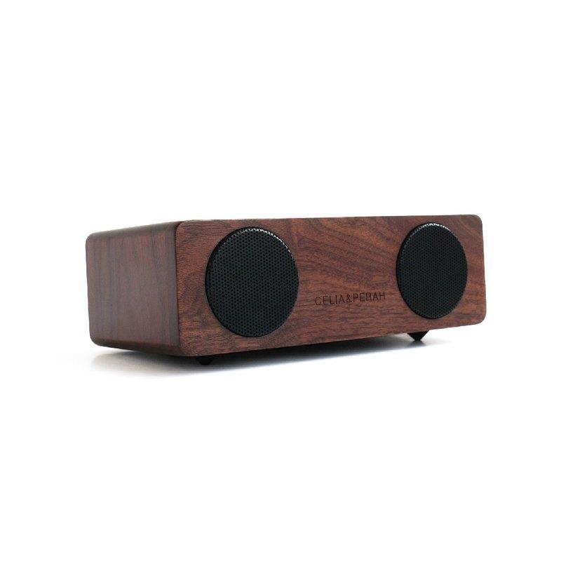 CELIA&PERAH M2 無線高傳真實木音響-胡桃木原木色