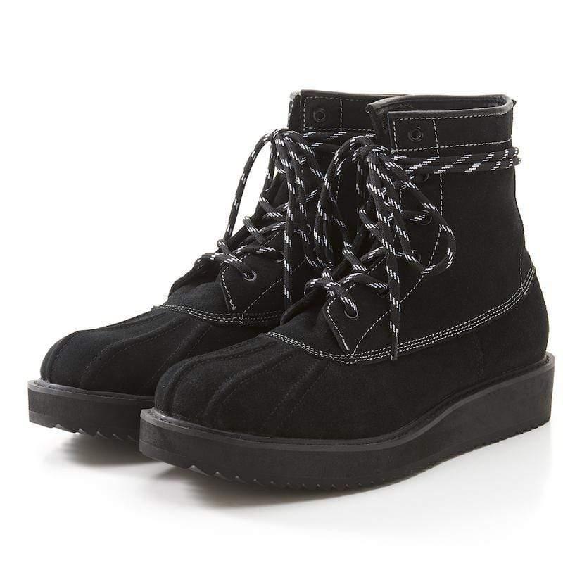 Ruben Duck Boots Black Suede 獵鴨靴 黑麂皮款 8|26cm Man