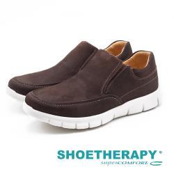 SAPATOTERAPIA 巴西男士 Loafer平穩樂福休閒鞋-深咖(另有深藍)