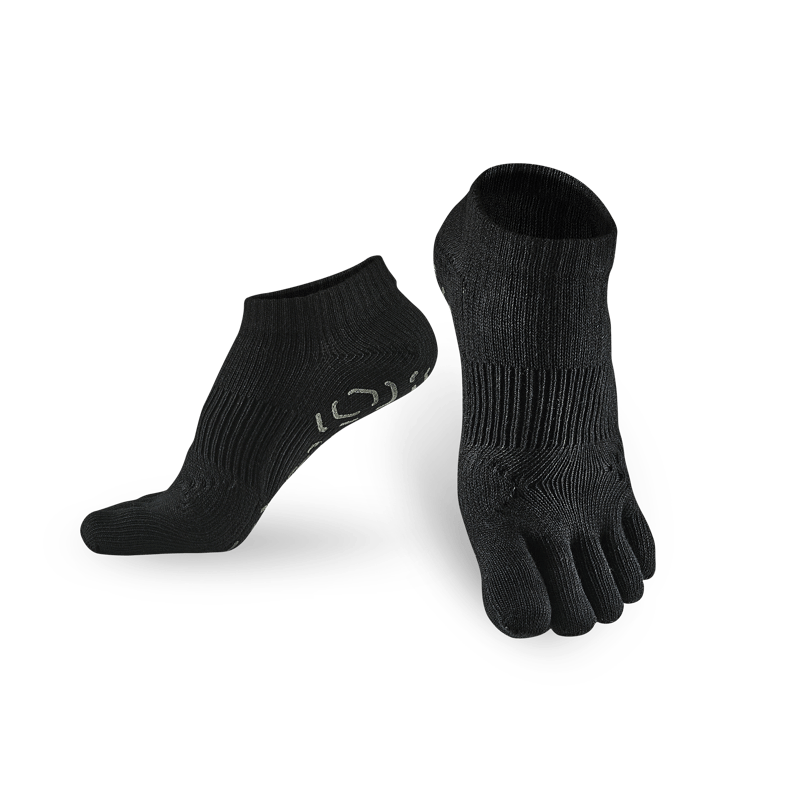 五趾功能訓練踝襪 - 3雙_送titan立體洗衣袋 藍 L (26-29cm)
