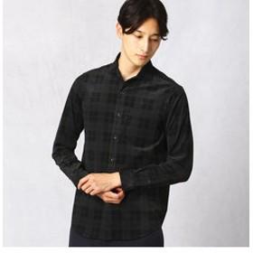 【COMME CA MEN:トップス】IL CONTEプリントコーデュロイシャツ