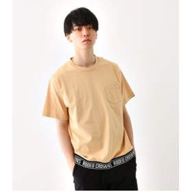 【Rodeo Crowns/RODEO CROWNS WIDE BOWL:トップス】メンズ 裾リブロゴ Tシャツ