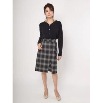 【ファビュラス アンジェラ/Fabulous Angela】 Dカンベルト付ラップタイトスカート
