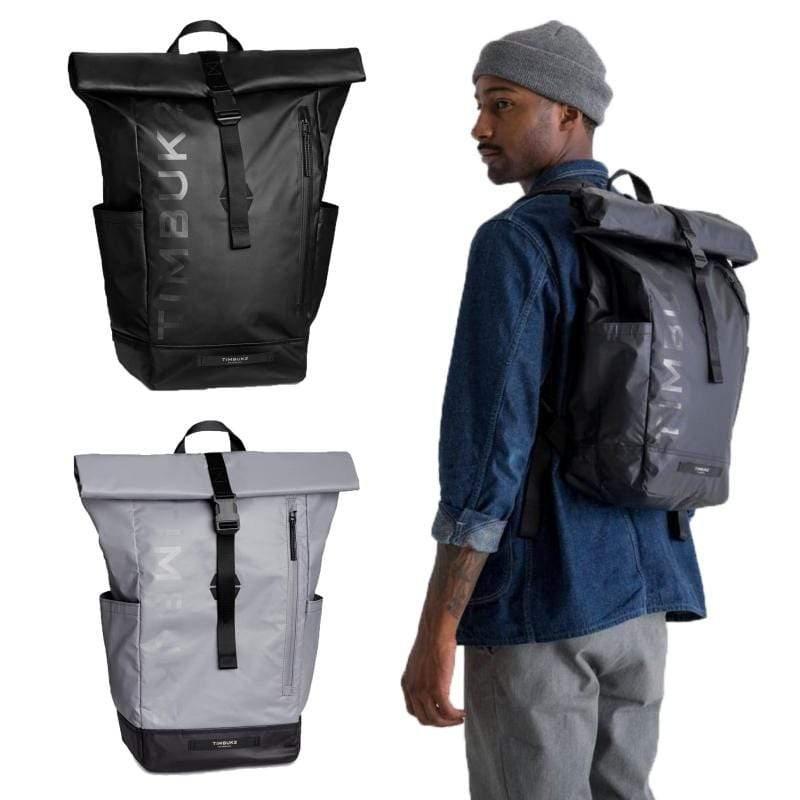 ETCHED TUCK BACKPACK 20L 防雨捲式電腦背包 - 共兩色 灰色