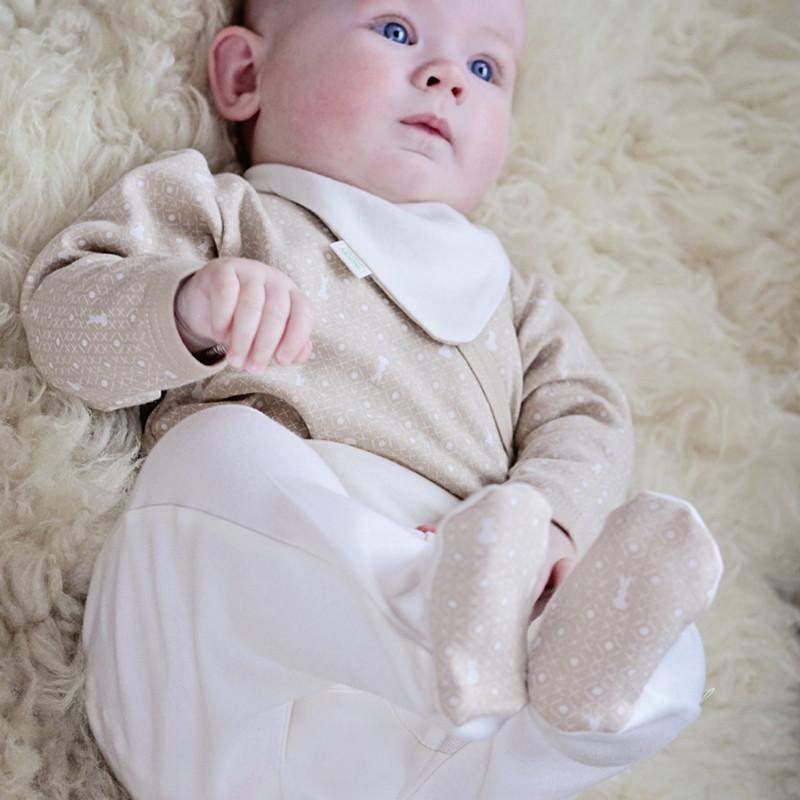 有機棉絨 彌月精緻禮 - 丹蜜深棕 68cm