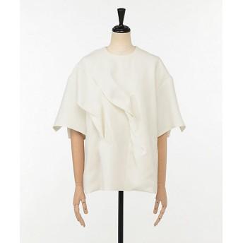 <AKIRA NAKA/アキラ ナカ> Tess twist drape pullover WH WHITE【三越・伊勢丹/公式】