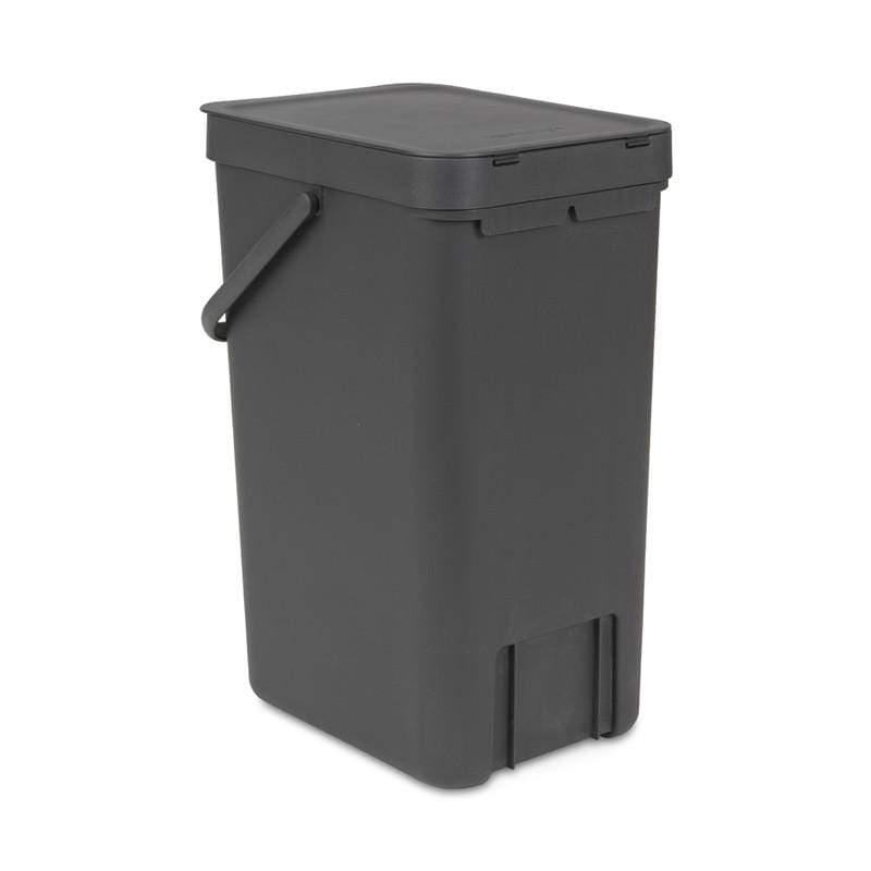 多功能餐廚置物桶16L 薄荷藍