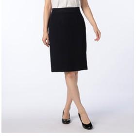 【NOLLEY'S:スカート】バックサテンタイトスカート