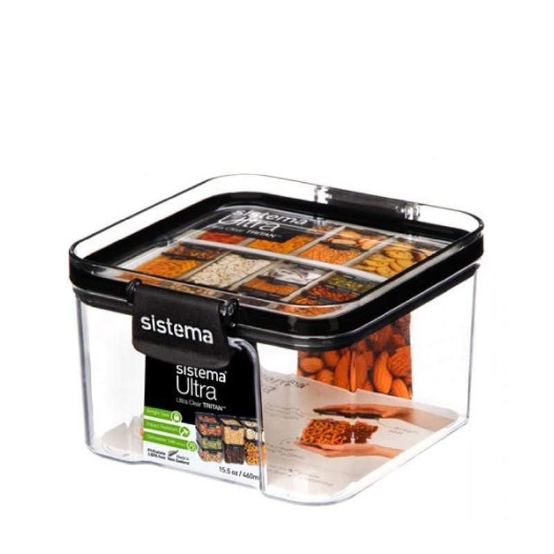 紐西蘭進口TRITAN系列方形密封保鮮盒(460ml)-51400