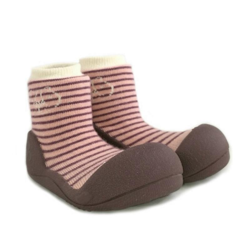 快樂學步鞋-紅紋森林- L