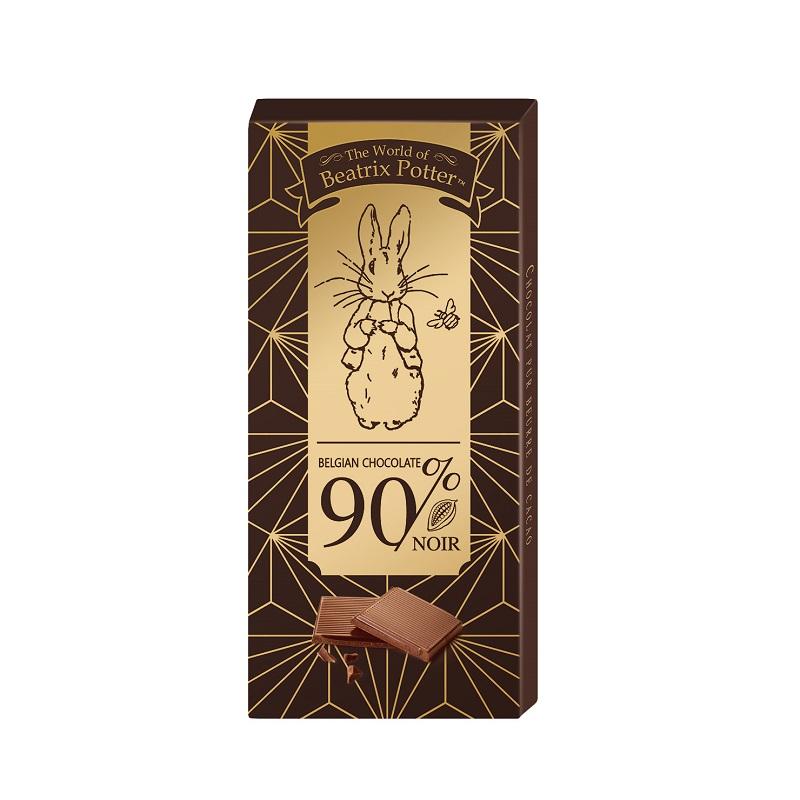 波特小姐90%可可黑巧克力片-100g