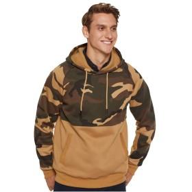 Y&E パーカー メンズ 長袖 トレーナー スウェット プルオーバー 迷彩 トップス メンズ 冬 ゆったり カジュアル tシャツ