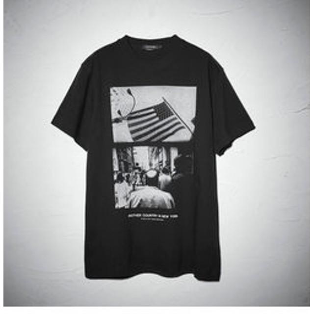 【LOVELESS:トップス】森山大道×LOVELESS グラフィック Tシャツ