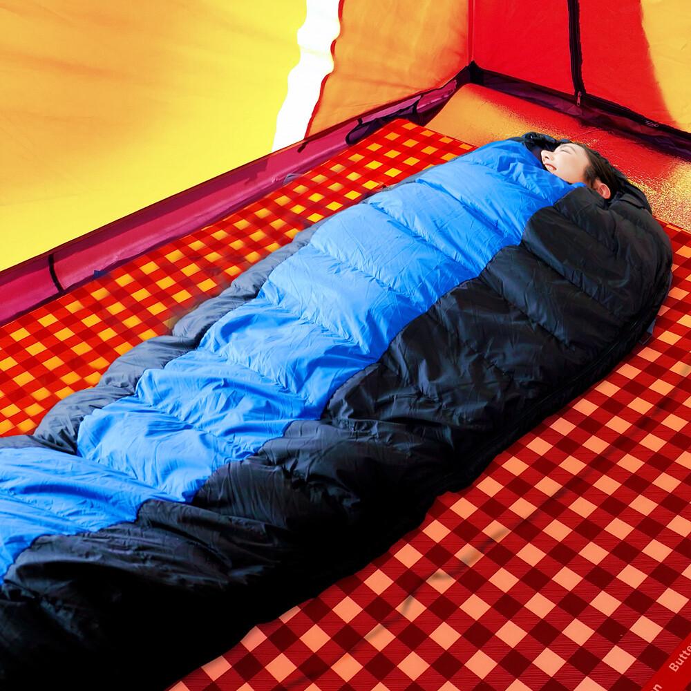 凱蕾絲帝極地抗寒高山玩雪fp600+木乃伊90%純羽絨睡袋800g