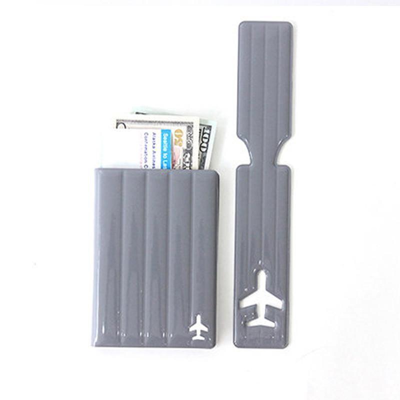旅行系列 - 耐衝擊護照套(S size) - 灰