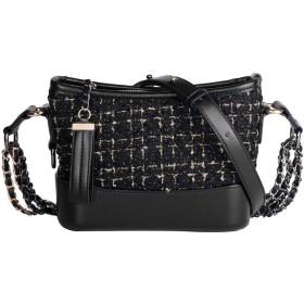 バッグ - PU/ポリエステル/レトロスタイルパンクハンドバッグ、ショルダーバッグ/ショルダーバッグ、大容量/ソフト/ウェアラブル 綺麗な (Size : 20.5x8x15cm)