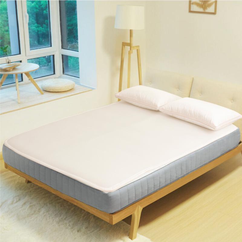 3D空氣降溫水洗床墊+涼感纖維布套_雙人加大6尺