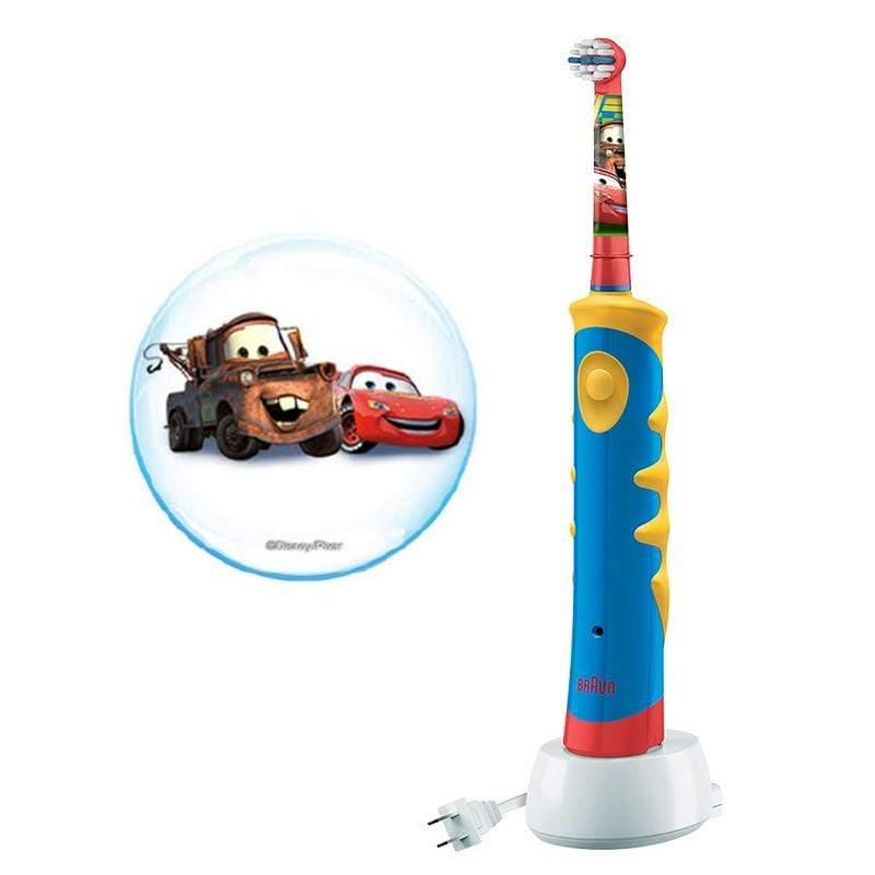 德國百靈 Oral-B 汽車總動員充電式兒童電動牙刷D10