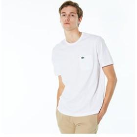 【LACOSTE:トップス】ベーシッククルーネックポケットTシャツ (半袖)