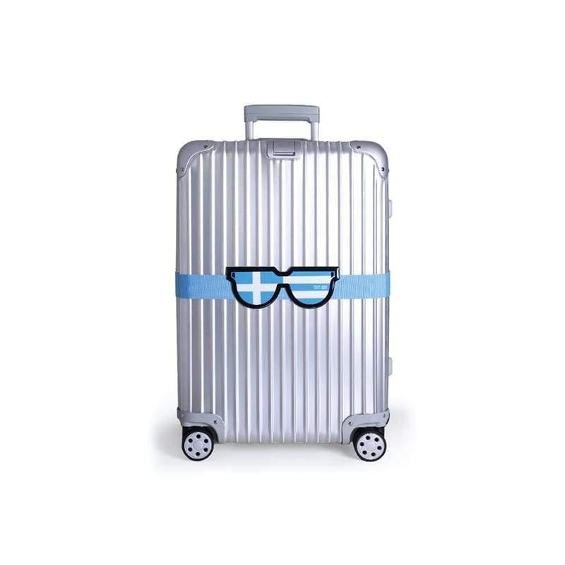 韓國LUCALAB Hello Luggage belt/旅行箱束帶/登機箱束帶 韓國LUCALAB 可愛風行李箱束帶