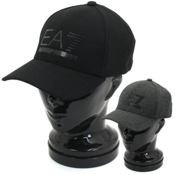 エンポリオアルマーニ EA7 EMPORIO ARMANI トレインビジビリティMキャップ TRAIN VISIBILITY M CAP ベースボールキャップ 275889 9A503 ユニセックス