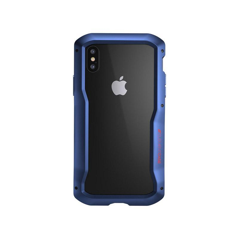 "VAPOR-S系列 iPhone XS Max (6.5"") 幽靈煙鬼手機保護殼 - 隱藍"