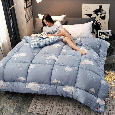 冬被棉質全棉雙人床1.8x2.2米絲綿被芯加大加厚10斤保暖床上被子