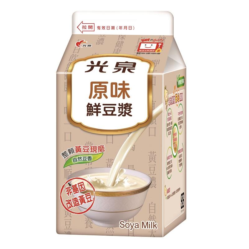 光泉原味鮮豆漿-400ml到貨效期約6-8天
