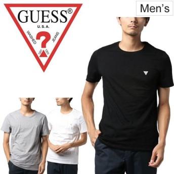 Tシャツ 半袖 メンズ ゲス GUESS クルーネック ロゴ シンプル おしゃれ/M93I60I3Z00