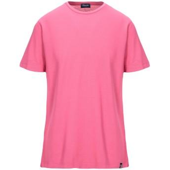 《セール開催中》DRUMOHR メンズ T シャツ フューシャ S コットン 100%