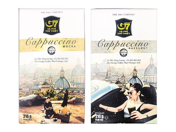越南 G7~卡布奇諾(216g) 款式可選【D350241】