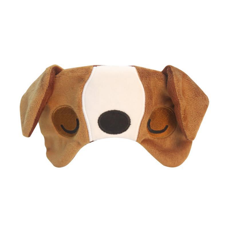 兒童用舒適旅行眼罩 柴犬款