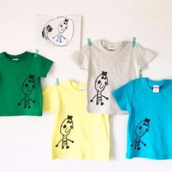 子供の絵をTシャツに!! 大人レディースサイズ
