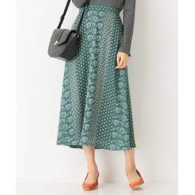any SiS(エニィスィス)/【洗える】パネルプリントロング スカート