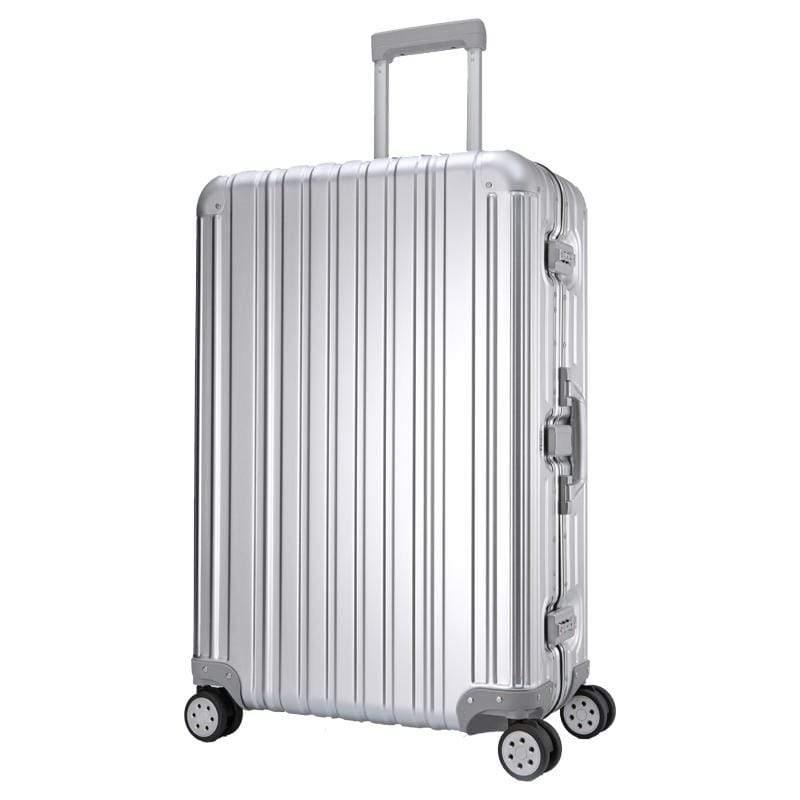 Aviator 極緻奢華鋁鎂合金行李箱 29吋-時尚銀
