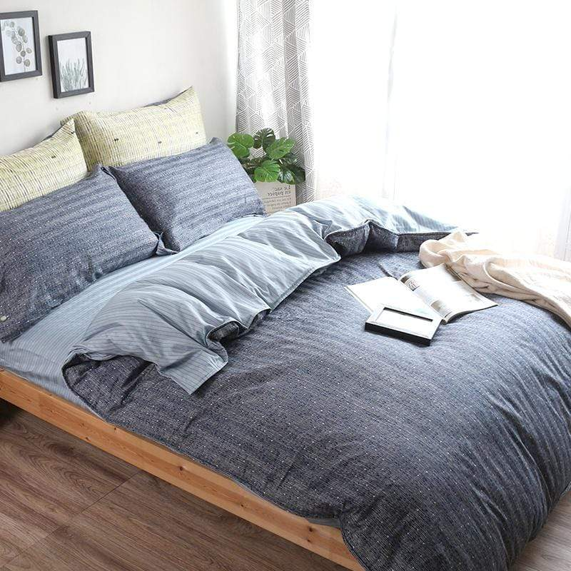 高織緹花織光棉兩用被床包組-雙人特大7尺 (四款可選) 時光魅影