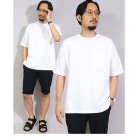 【メンズビギ:トップス】ポンチポケットTシャツ