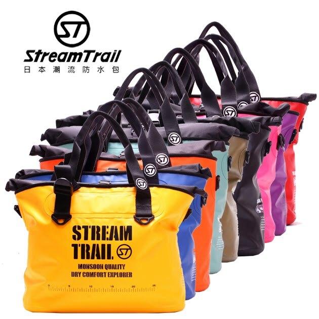 日本品牌【Stream Trail】M1.5單肩托特包 戶外 防水包 水上活動 衝浪 游泳 大容量 休閒包 旅行袋