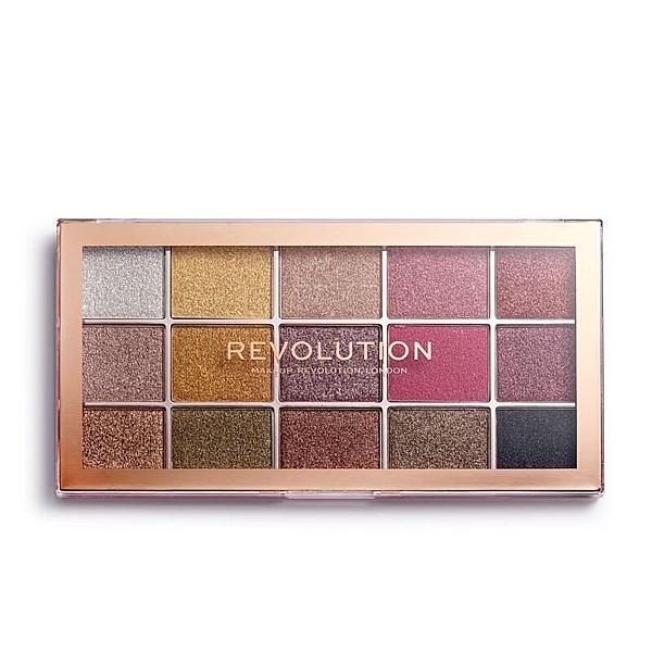 Makeup Revolution Foil Frenzy Creation Eyeshadow 15色眼影盤