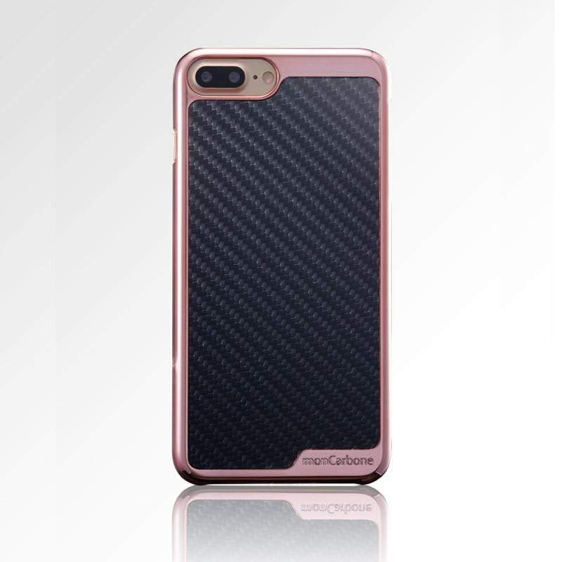 KHROME 碳纖維保護殼 for iPhone 7/8 系列 - 玫瑰金/碳纖黑 iPhone 7 Plus (5.5吋)