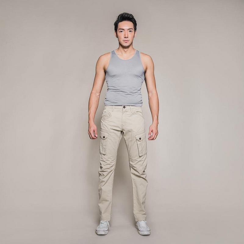 MH006 曼哈頓 洋基藍 八口袋商旅紳士褲 #30