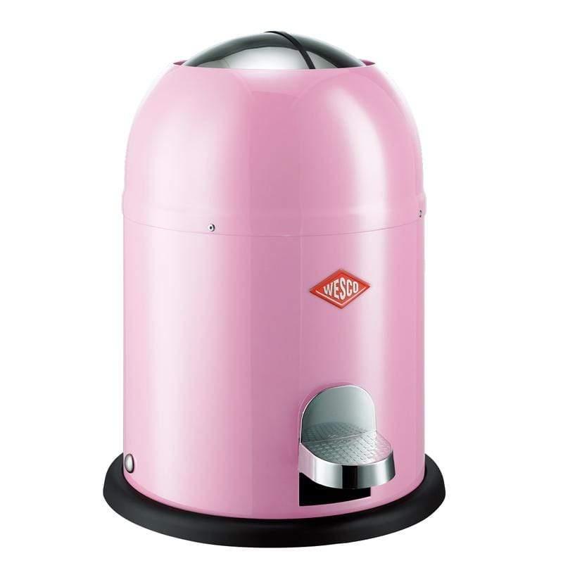 【WESCO】騎士桶/腳踏式垃圾桶9L-粉紅色