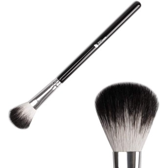 DFCD 顔の化粧ブラシ 1ピース蛍光ファンブラシポータブル輪郭トリミングブラシコンシーラーブラシ輪郭メイクブラシ