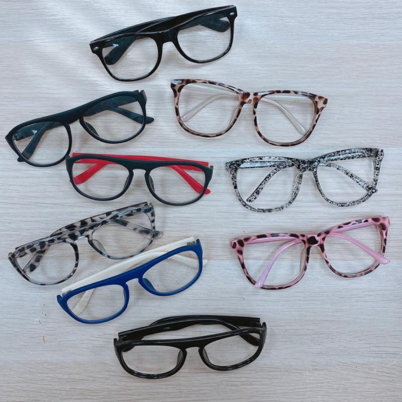 眼鏡架 韓系粗框 方圓眼鏡 五色 出清 FU 魔髮樂