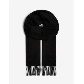 ジョンストンズ JOHNSTONS レディース マフラー・スカーフ・ストール Cashmere scarf BLACK