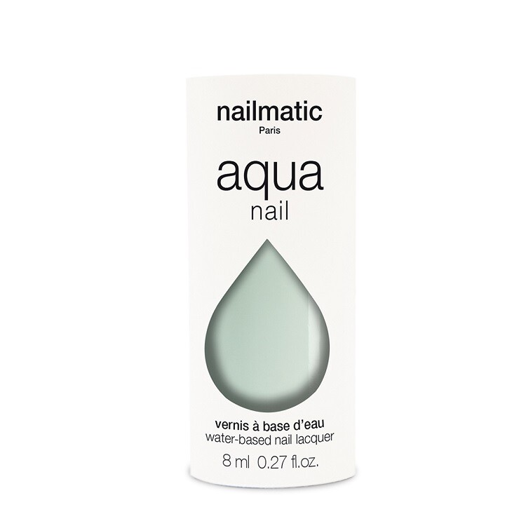 nailmatic 水系列經典指甲油 - lee 清雅綠